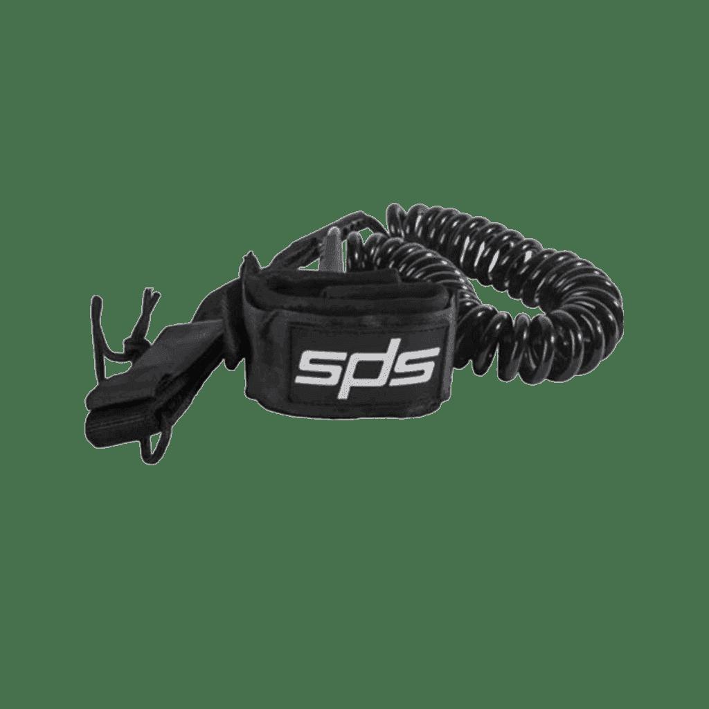 LEASH RACE Negro de 9' ultraresistente  y duradero  especial para carreras o travesías