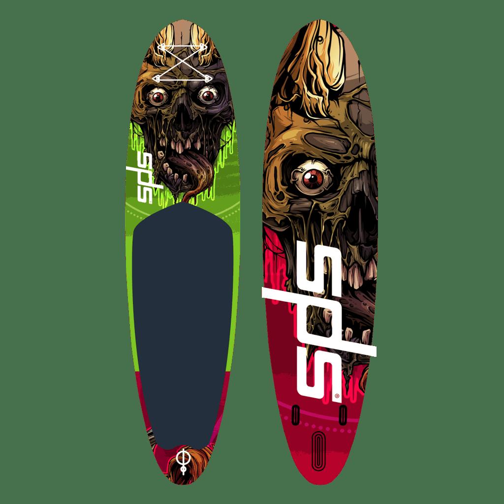 Tabla de paddle sup de diseño Skull Limited edition